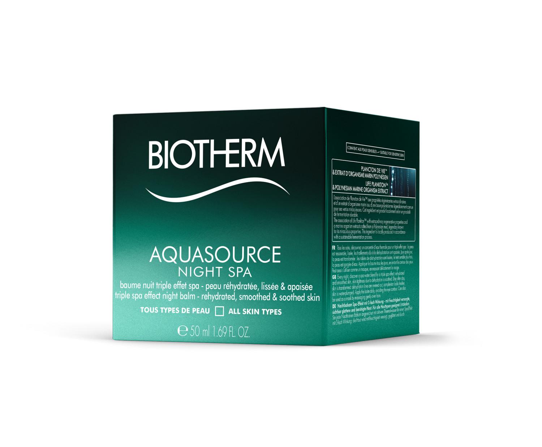 Biotherm Aquasource Night Spa Nachtcreme 50ml