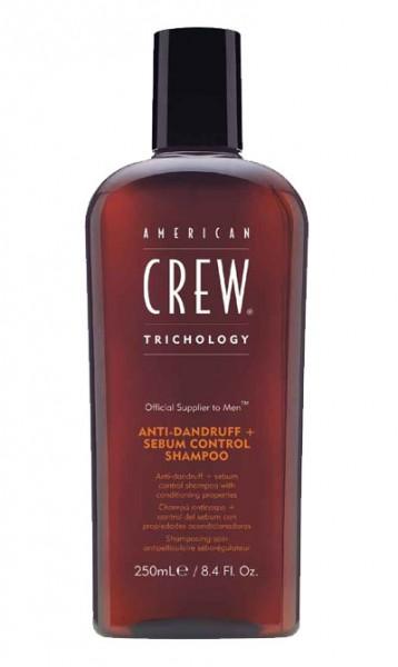 American Crew Trichology Anti-Dandruff + Sebum Control Shampoo 250