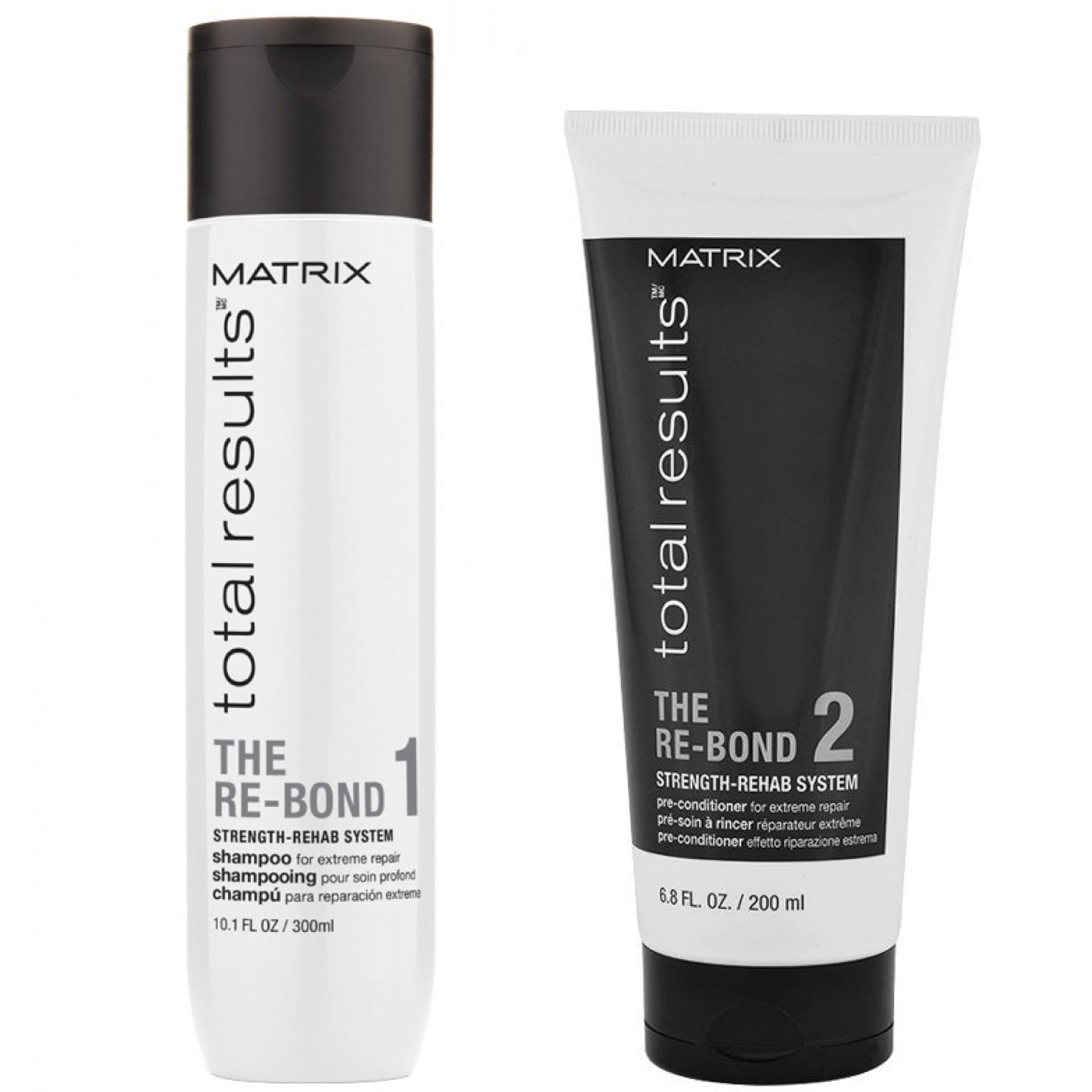 Matrix Total Results The Re-Bond Set - Shampoo 300ml + Pre-Conditioner 200ml