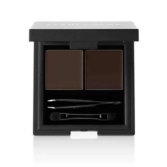 Stagecolor Cosmetics Brow Kit Powder & Wax Dark Brown