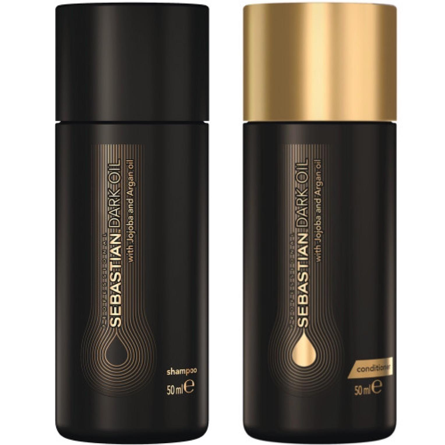 Sebastian Dark Oil - Shampoo 50ml + Conditioner 50ml