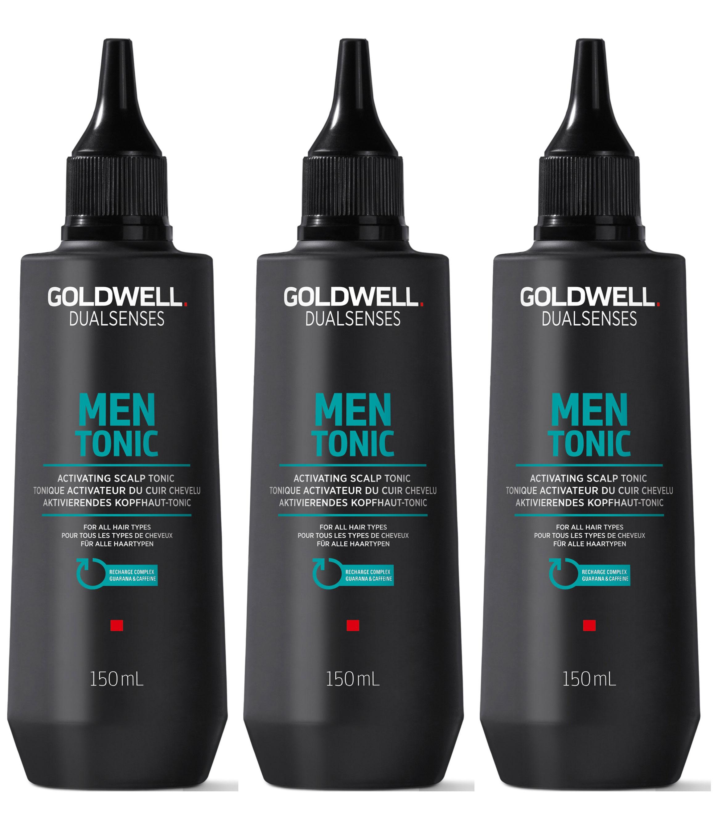 Goldwell Dualsenses For Men Activating Scalp Tonic 3 x 150ml = 450ml