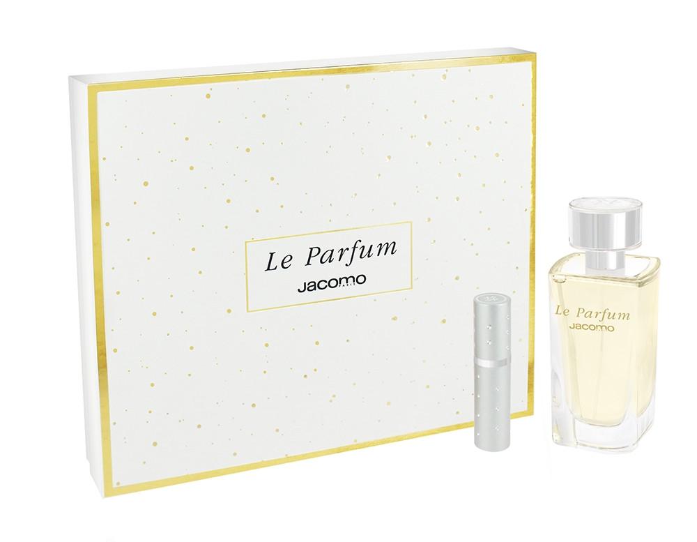 Jacomo Le Parfum Set - Eau de Parfum 100ml + Handtaschenflakon