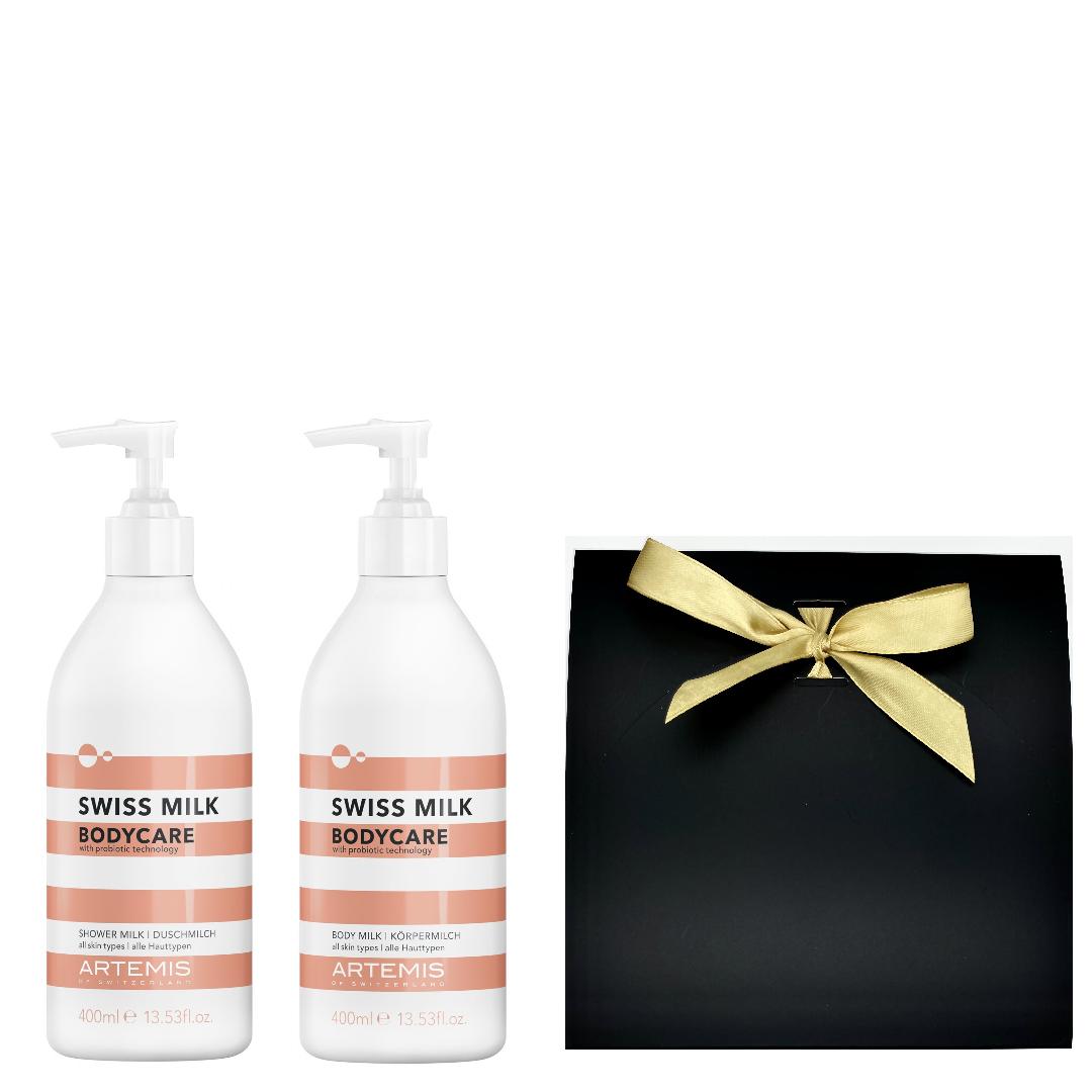 Artemis Swiss Milk Bodycare Pflegeset mit Geschenkbox