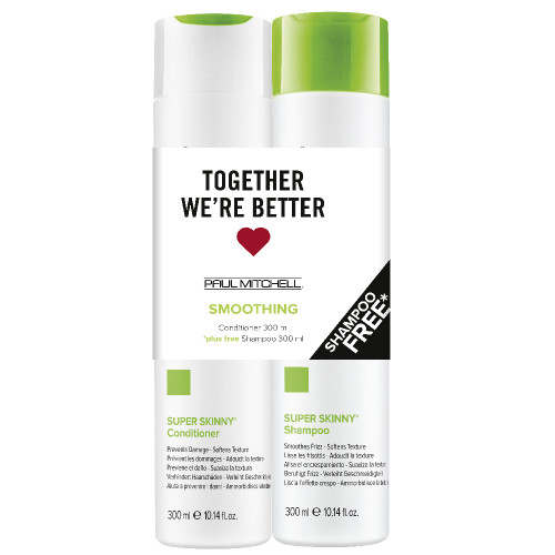 Paul Mitchell Smoothing Skinny Conditioner 300ml + Shampoo 300ml
