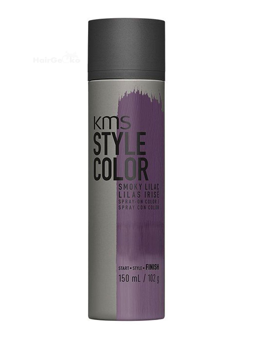 KMS Style Color Smoky Lilac Finish temporäres Farbspray Haarfarbe 150ml