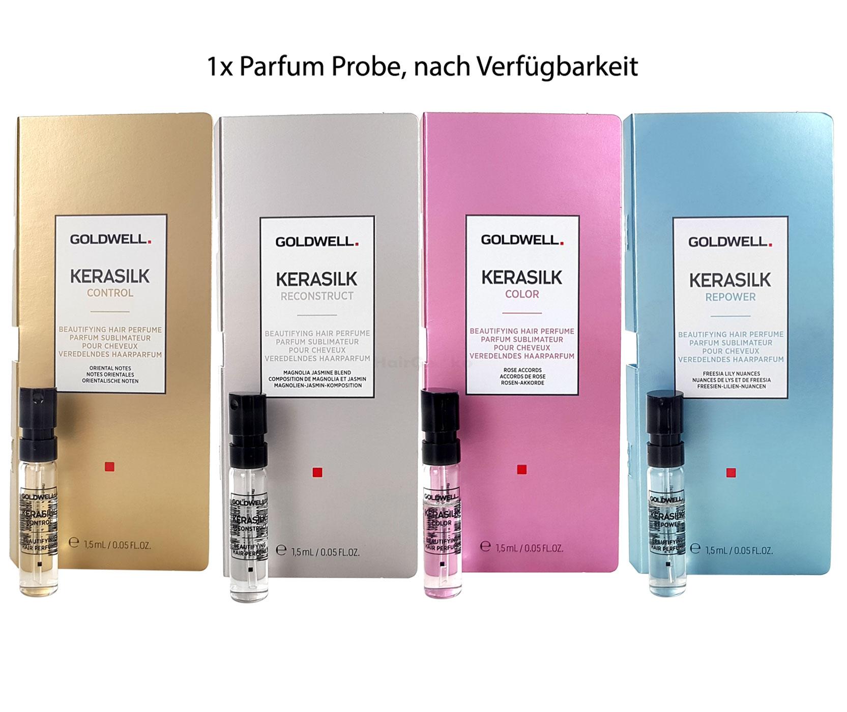 Goldwell Kerasilk Haarparfum Control, Reconstruct, Color, Repower Parfum Probe - 1,5ml