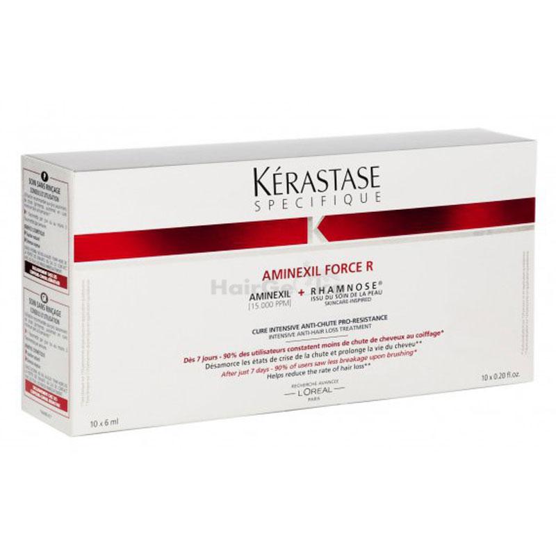 Kerastase SPECIFIQUE Aminexil Force R (10er Coffret) - 10 x 6 ml