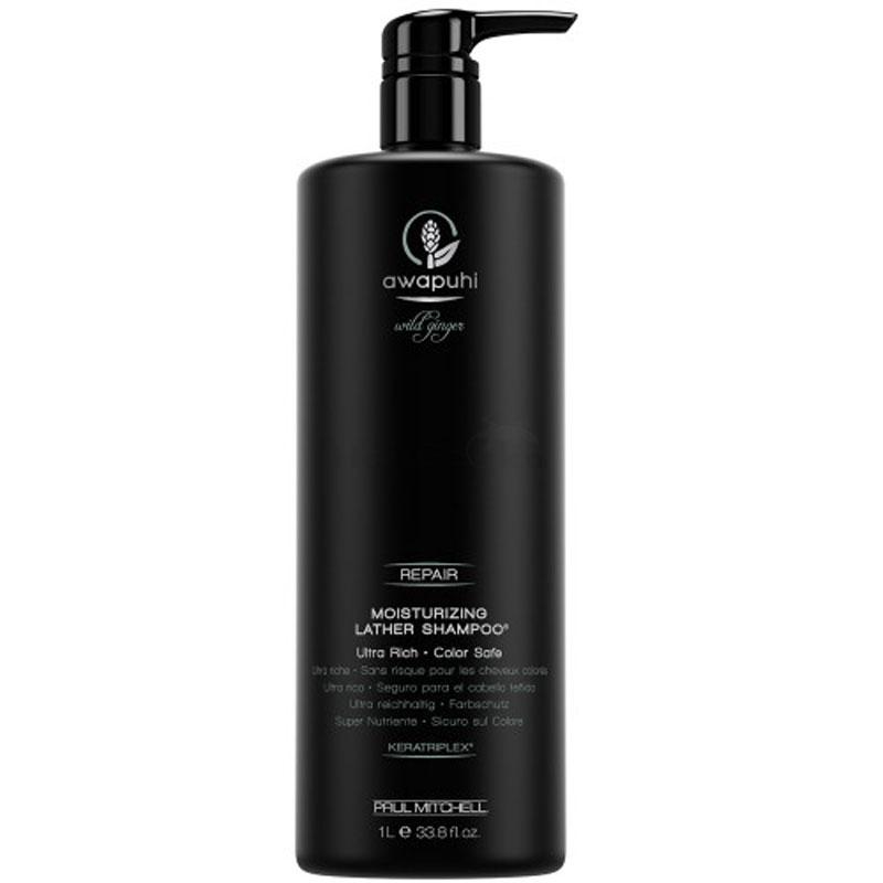 Paul Mitchell Awapuhi Wild Ginger Repair - Moisturizing Lather Shampoo 1000ml