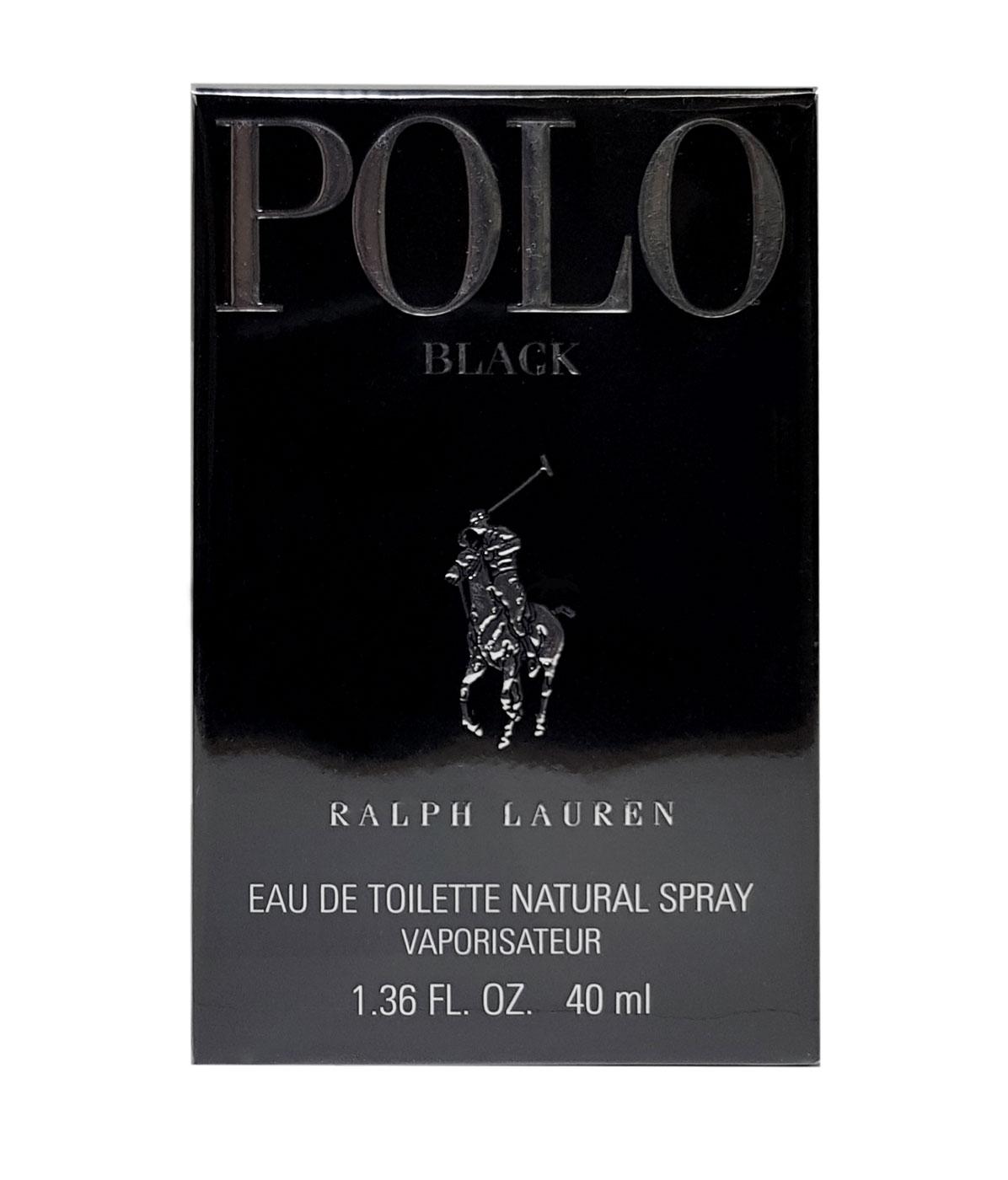 Ralph Lauren Polo Black Eau de Toilette Natural Spray 40ml