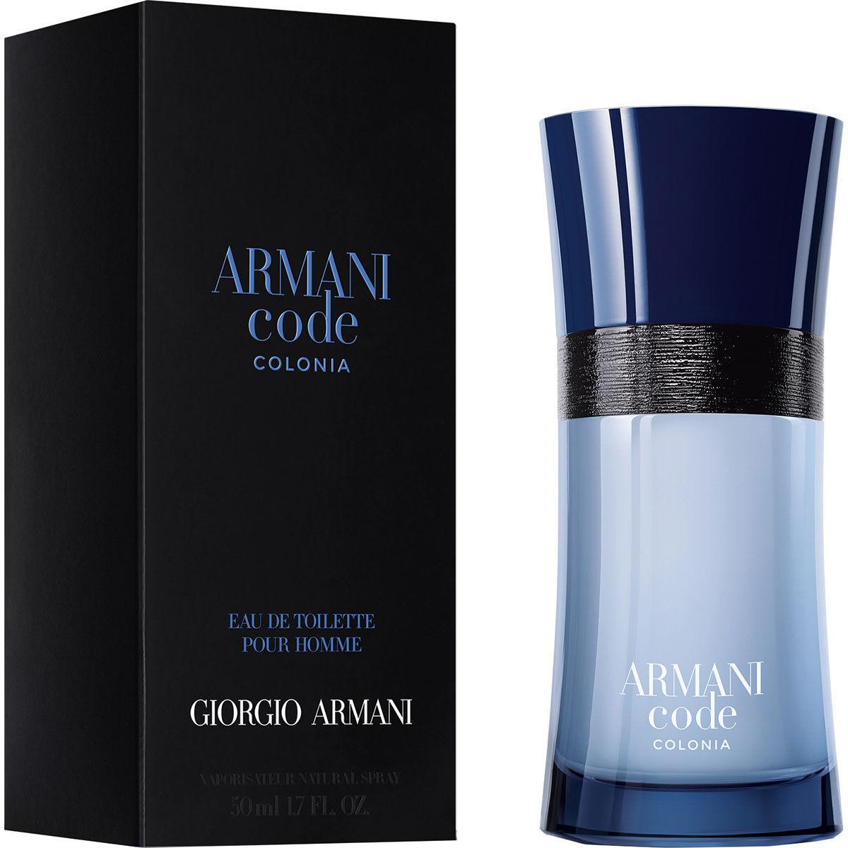 Giorgio Armani Code Homme Colonia Eau de Toilette 50ml