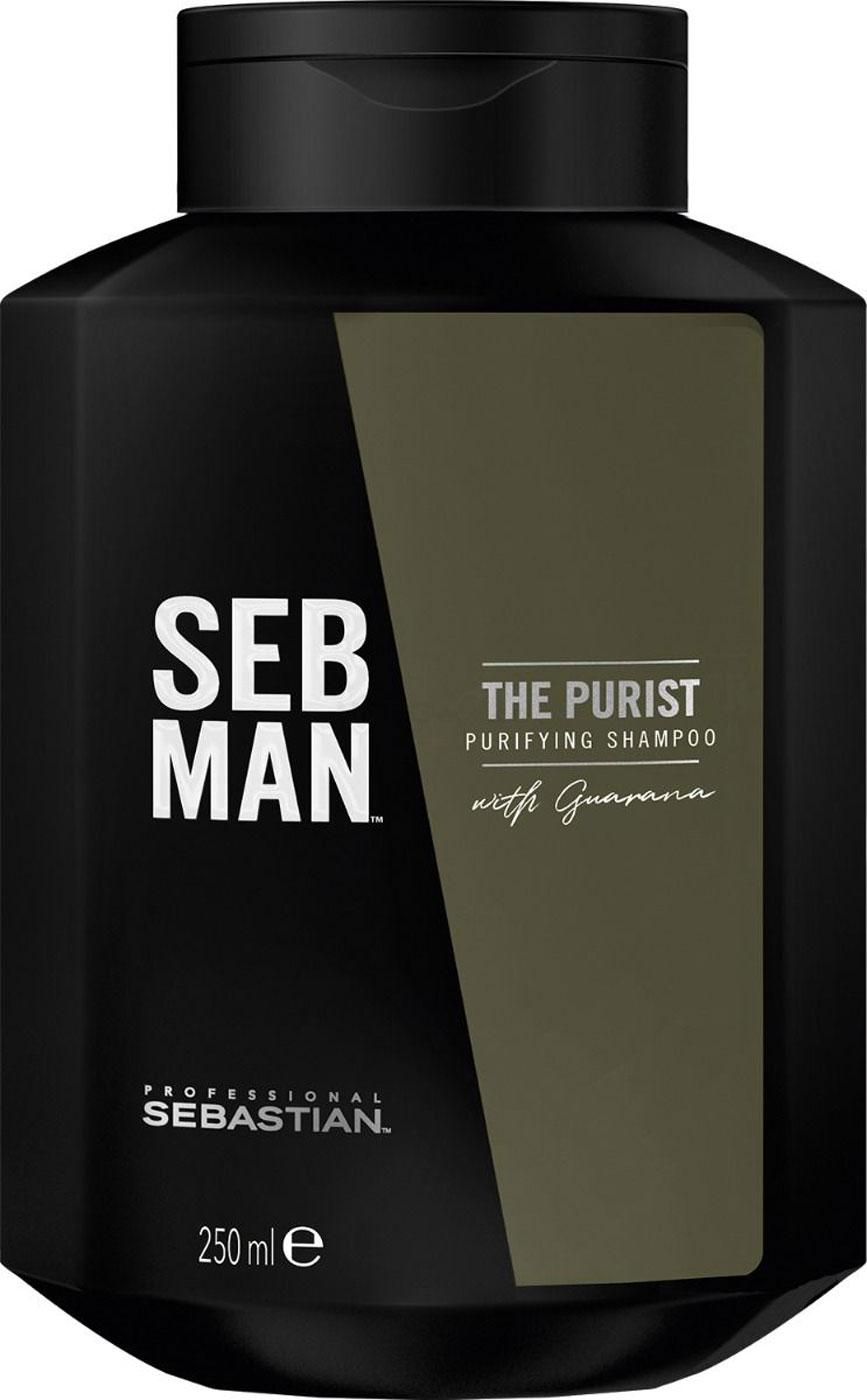 Sebastian SEB MAN The Purist Reinigendes Shampoo 250ml