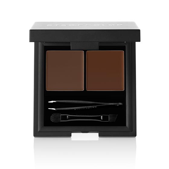Stagecolor Cosmetics Brow Kit Powder & Wax Medium Brown