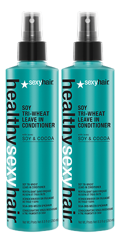 Sexy Hair Soy Tri Wheat Leave-In Conditioner Aktion - 2x 250ml = 500ml