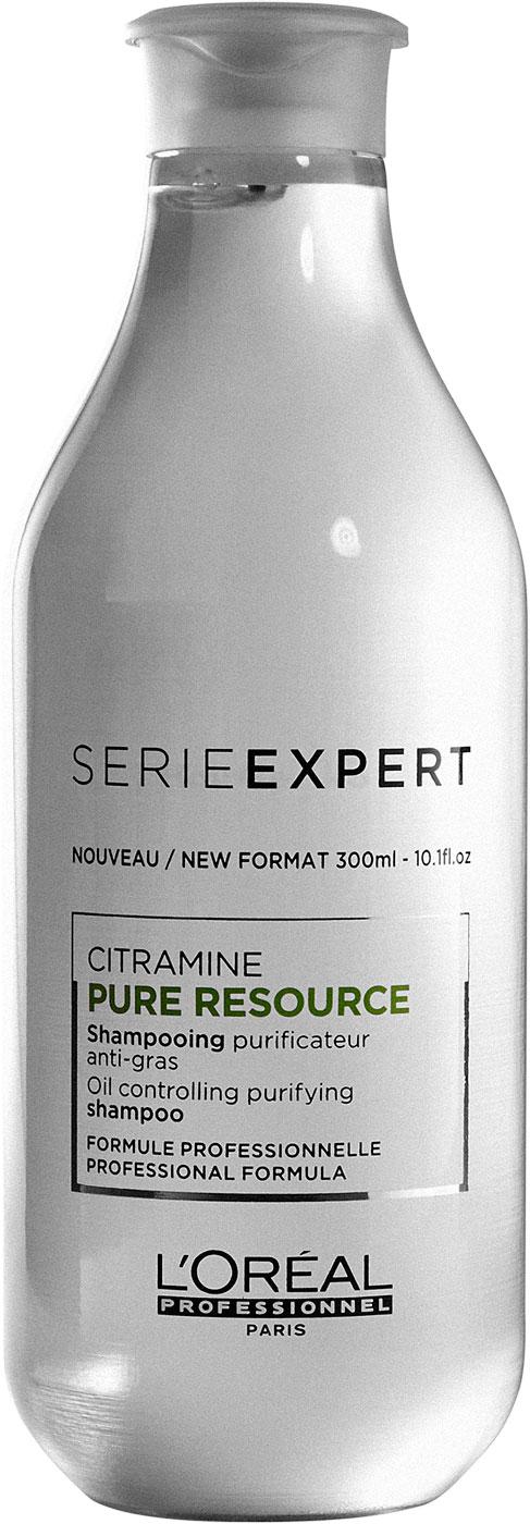 Loreal Serie Expert Pure Resource Shampoo 300ml - Neu