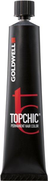 Goldwell Topchic Permanent Hair Color 60ml Haarfarbe- The Naturals 5N@BP Light Brown Elumenated Brown Pearl