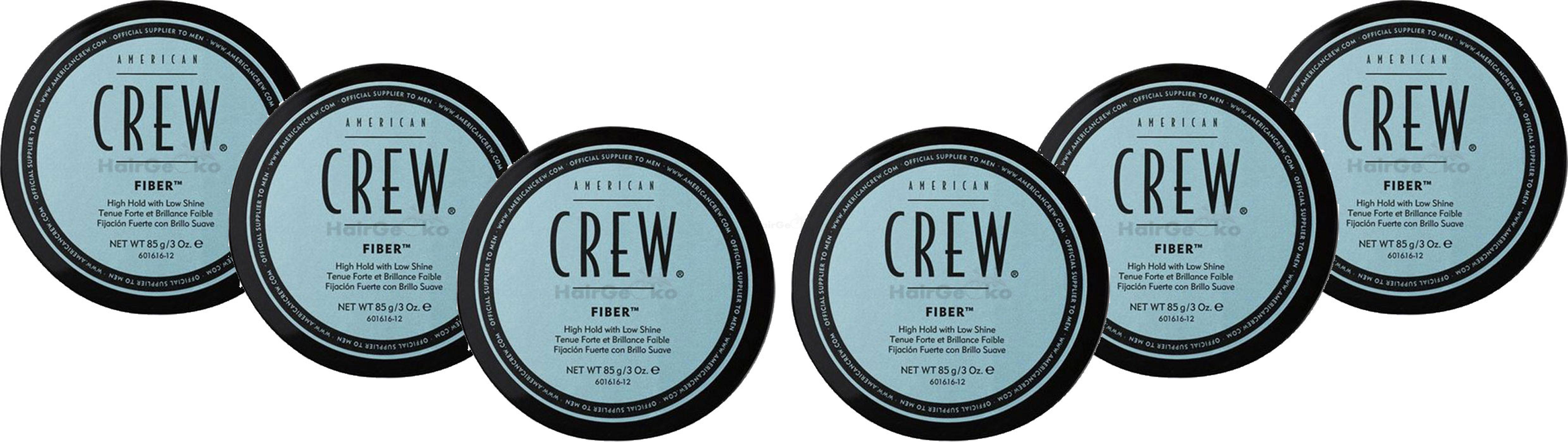 American Crew Fiber Aktion - 6x 85g = 510g