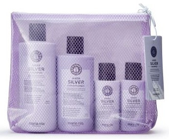Maria Nila Beauty Bag Sheer Silver