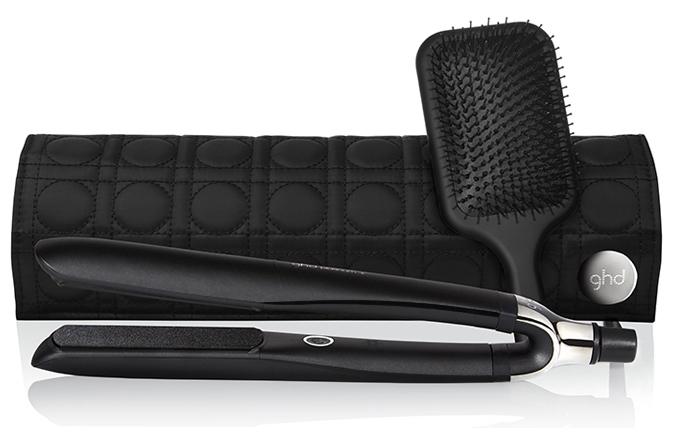 ghd healthier styling gift set - ghd platinum styler + Bürste + Clips + Tasche