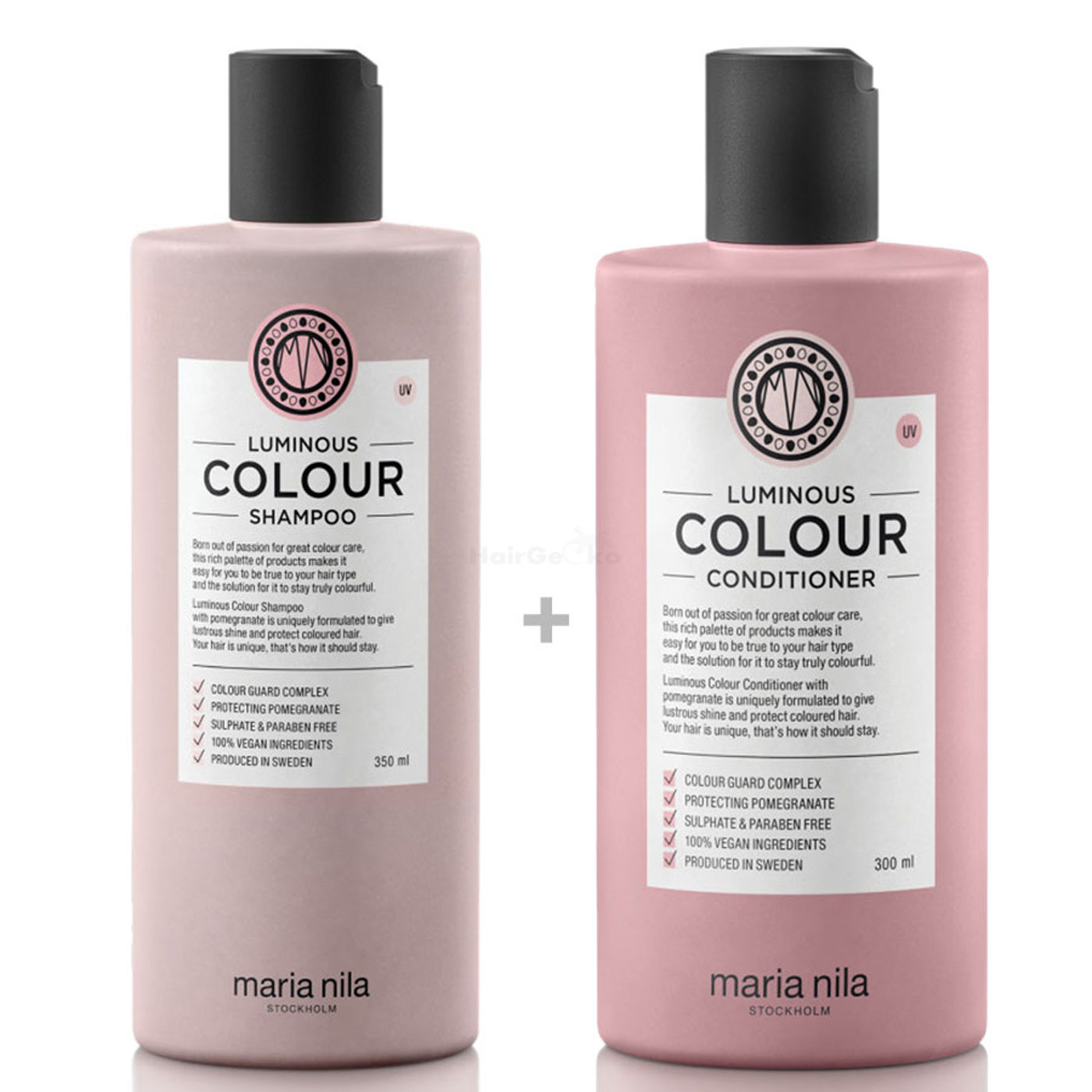 Maria Nila Luminous Colour Set - Shampoo 350 ml + Conditioner 300 ml