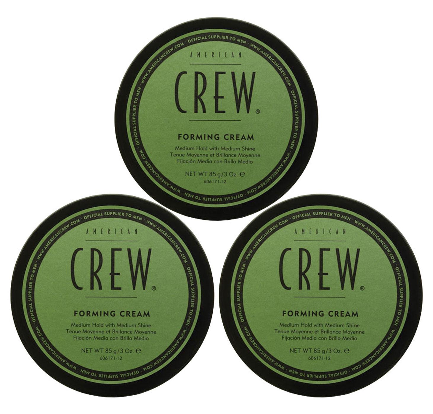 American Crew Forming Cream Aktion - 3x 85g = 255g