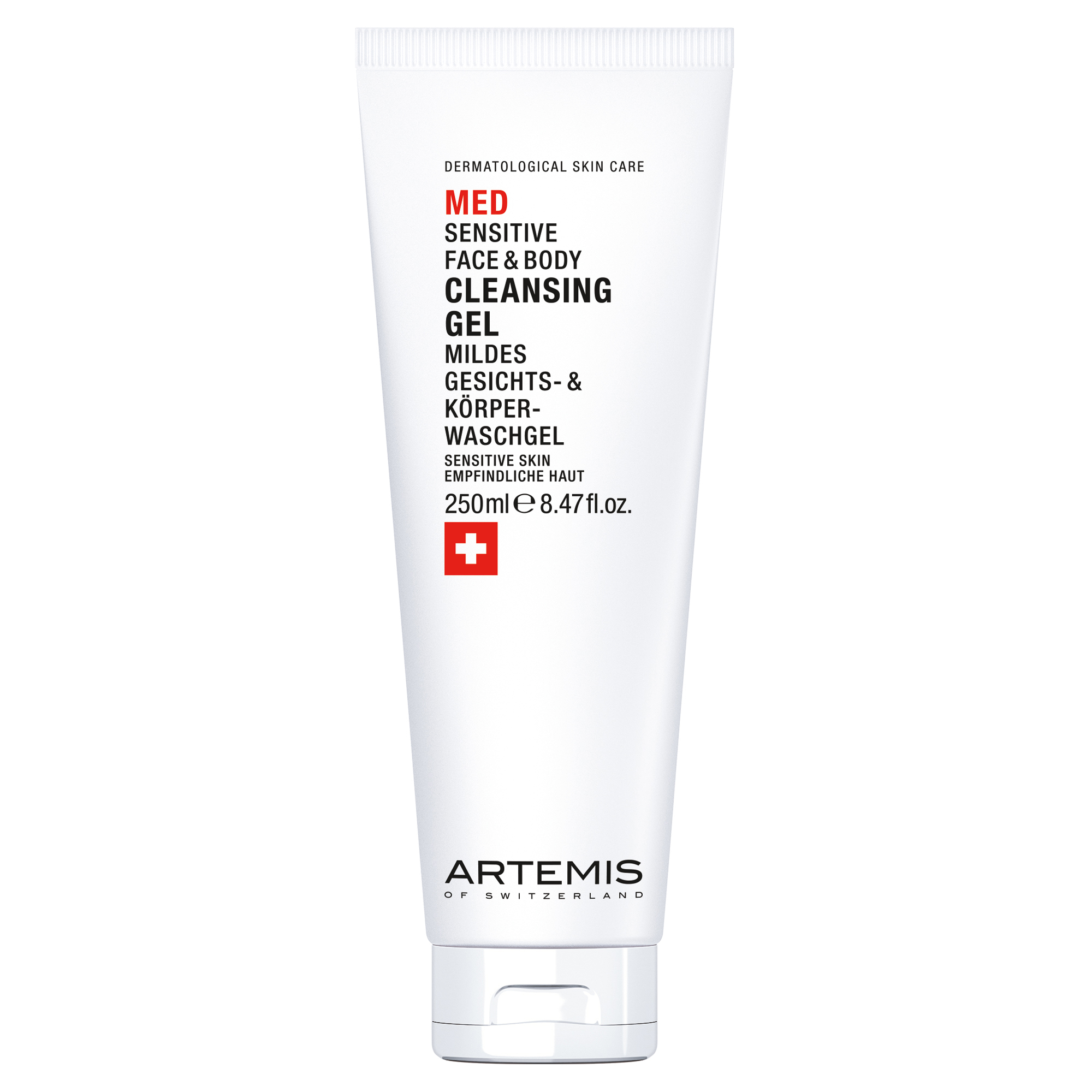 Artemis MED Face & Body Cleansing Gel 250ml