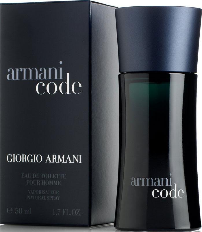 Giorgio Armani Code Eau de Toilette Pour Homme Spray 50ml
