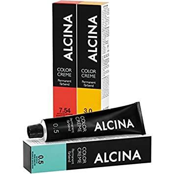 Alcina Color Creme Haarfarbe 60ml - 4.81 Mittelbraun-Graphit