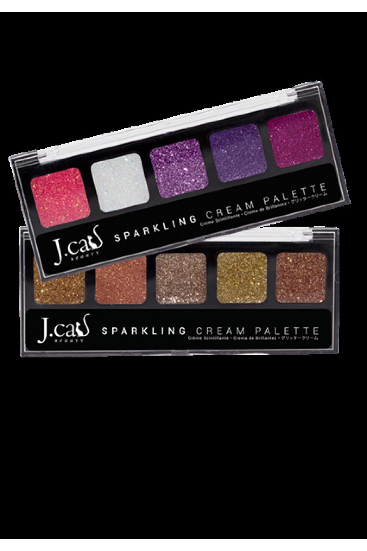 J.Cat Sparkling Cream / Lidschatten Palette Set's - Alle Farben