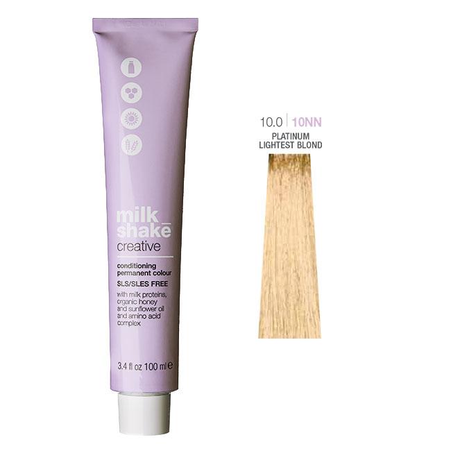 Milk_shake Creative Conditioning Permanent Colour 100ml Platinum Lightest Blond