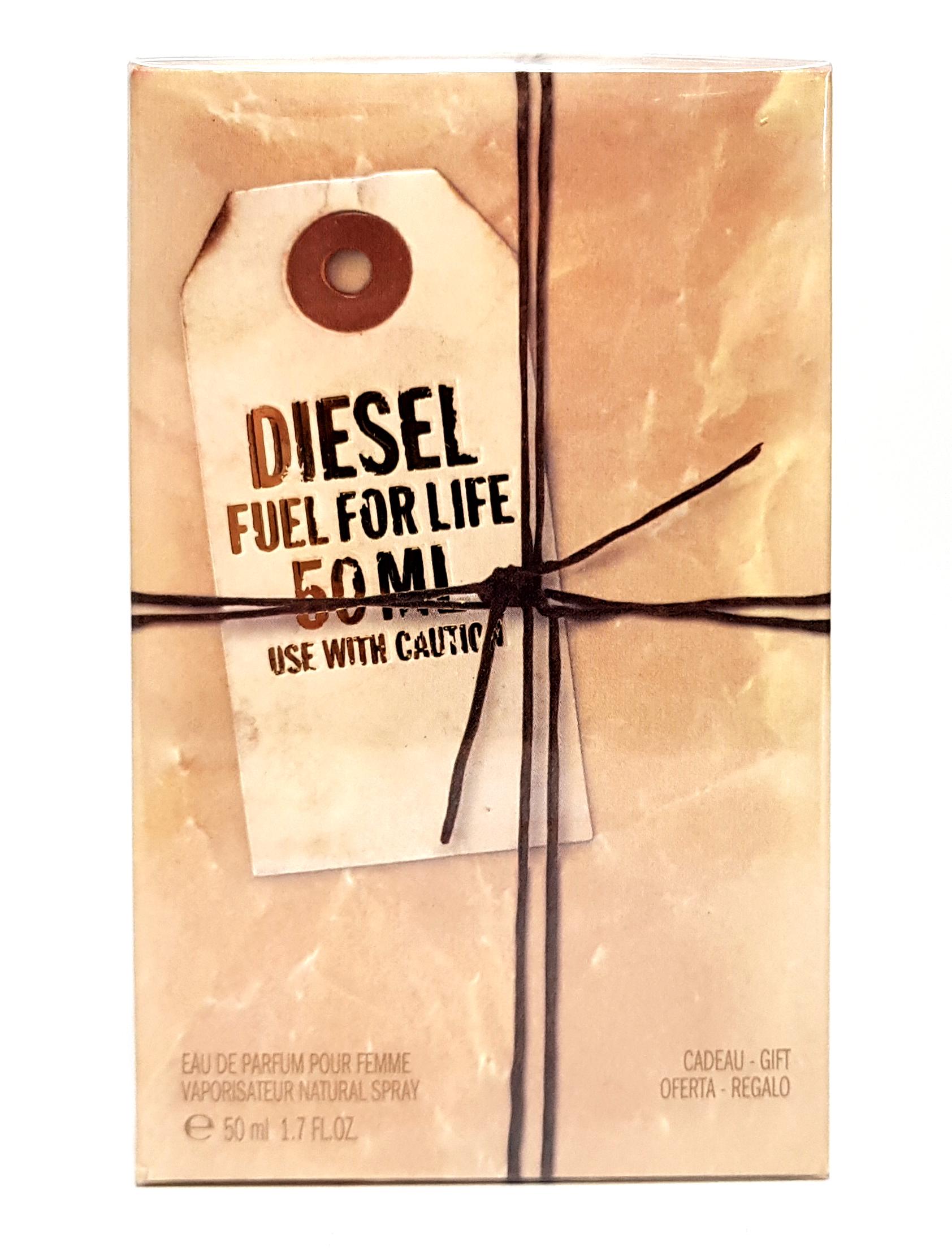 Diesel Fuel for Life Eau de Parfum pour Femme 50ml