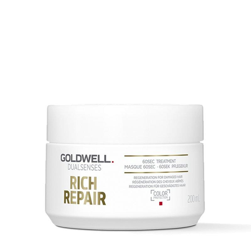 Goldwell Dualsenses Rich Repair 60Sec Treatment Maske 200 ml