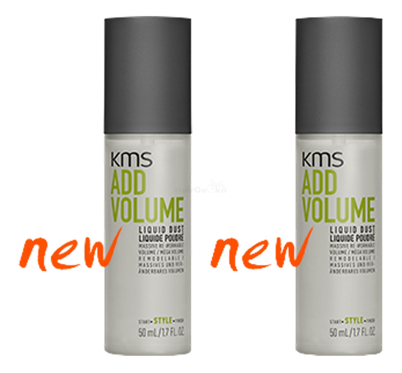 KMS California ADDVOLUME Liquid Dust 50ml x2 = 100ml - NEU