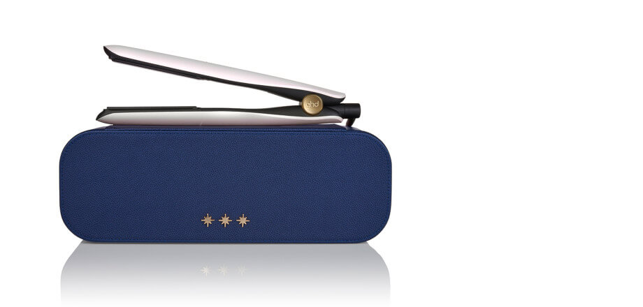 Ghd Gold wish upon a star Styler - iridescent white mit exklusivem Etui in Mitternachtsblau