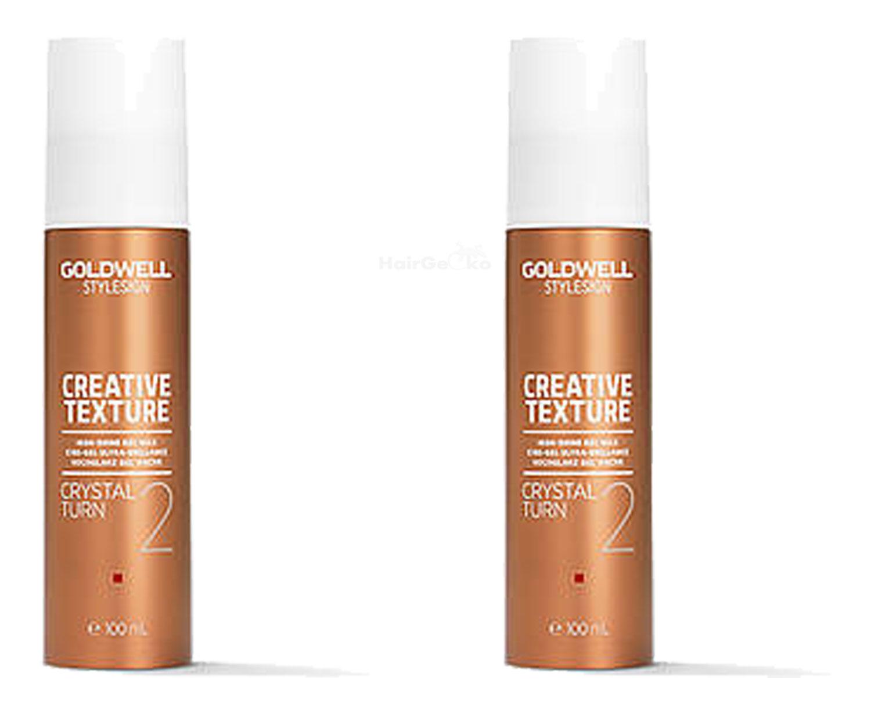 Goldwell StyleSign Creative Texture Aktion - Crystal Turn 2x100ml = 200ml