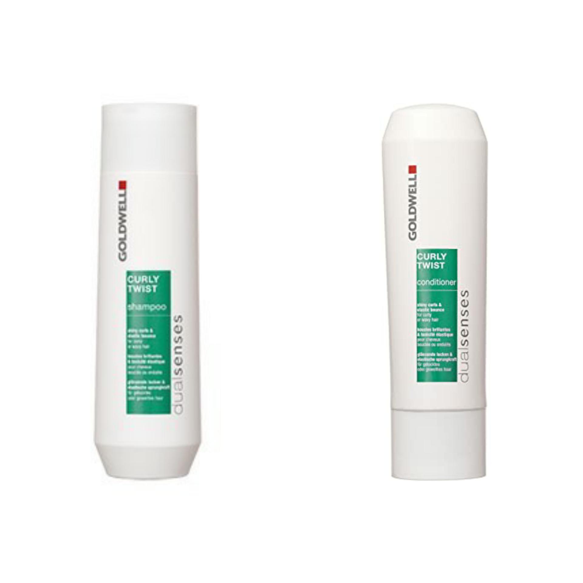 Goldwell Dualsenses Curly Twist Shampoo 250ml, Curly Twist Conditioner 200ml