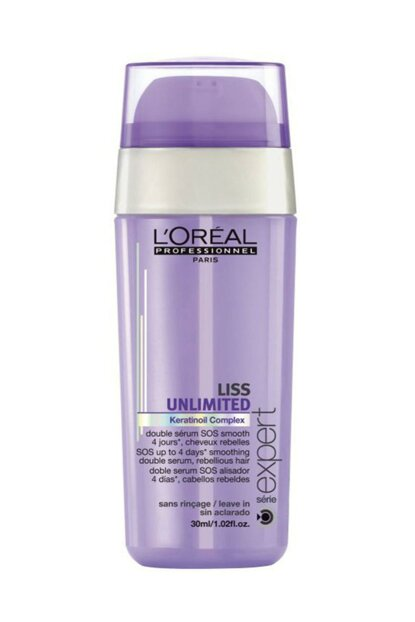 Loreal Professionnel Liss Unlimited Double Serum Keratinoil Complex 30ml