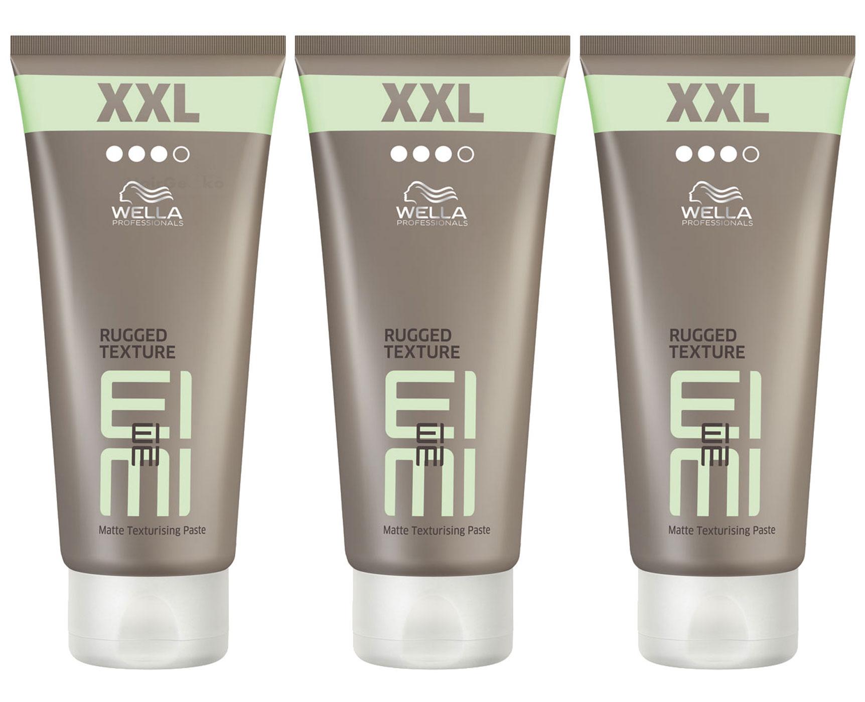 Wella EIMI Rugged Texture Haarpaste XXL Set - 3x 150ml = 450ml