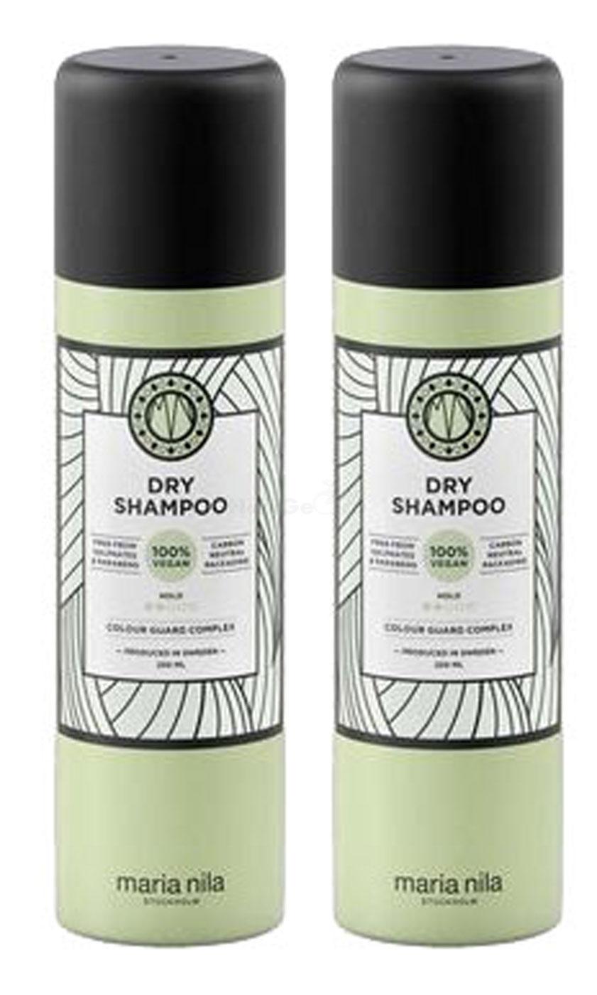 Maria Nila Style & Finish Dry Shampoo Trockenshampoo 2x 250ml = 500ml