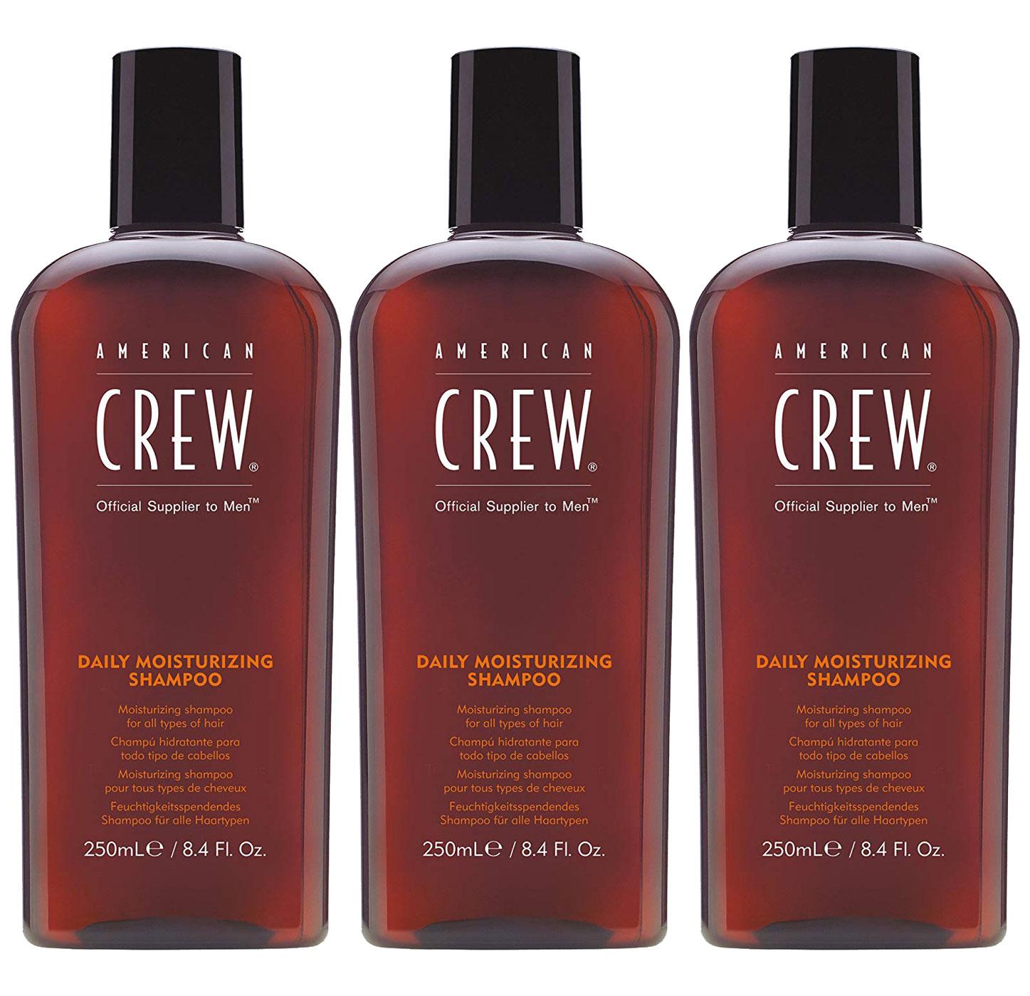 American Crew Classic Daily Moisturizing Shampoo Aktion - 3x 250ml = 750ml