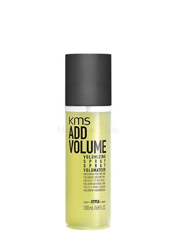 KMS California ADDVOLUME Volumizing Spray 200ml - NEU