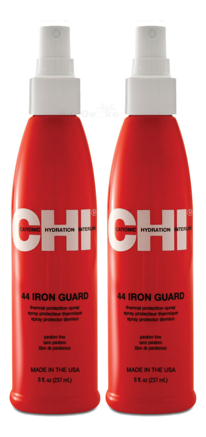 CHi 44 Iron Guard Thermal Protection Spray Hitzeschutz Haarspray 2x 237ml = 474ml