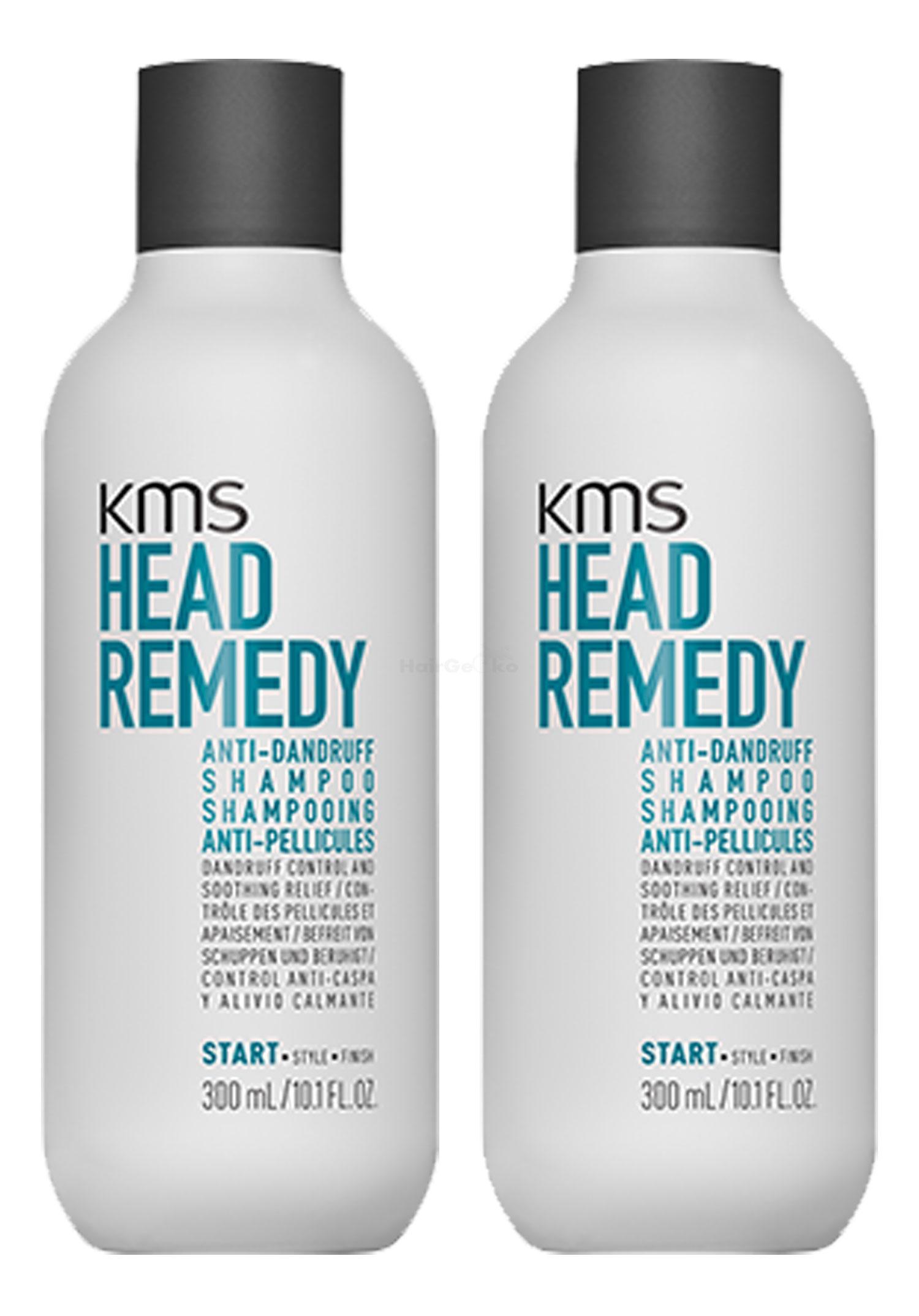KMS California HEADREMEDY Anti-Dandruff Shampoo 300ml x2 = 600ml - NEU