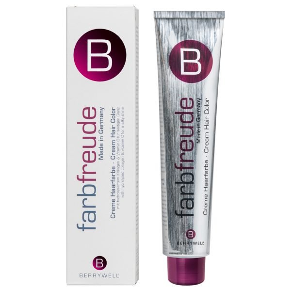 Berrywell Farbfreude Creme Haarfarbe 61 ml - 7.64 Mittel Blond Rot Kupfer