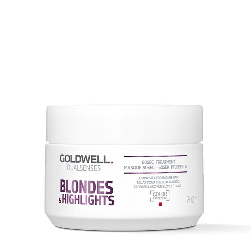 Goldwell Dualsenses Blondes & Highlights 60Sec Treatment Maske 200 ml